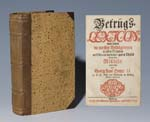 Betrugs-Lexicon 1724.