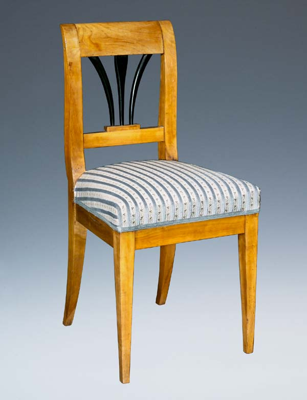 auktionshaus bergmann biedermeier stuhl postendetails. Black Bedroom Furniture Sets. Home Design Ideas