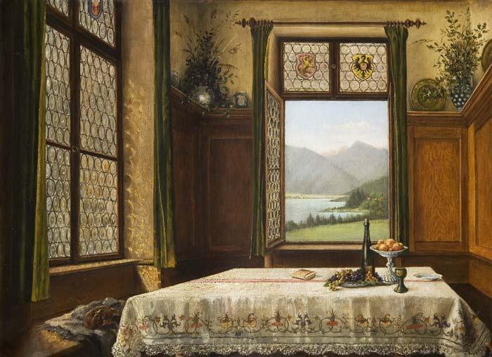 Interieurmalerei  Auktionshaus Bergmann - Interieurmaler 19.Jahrhundert. - Postendetails
