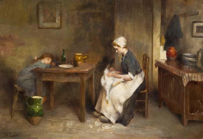 Genremalerei  Auktionshaus Bergmann - Genremaler 19.Jahrhundert. - Postendetails
