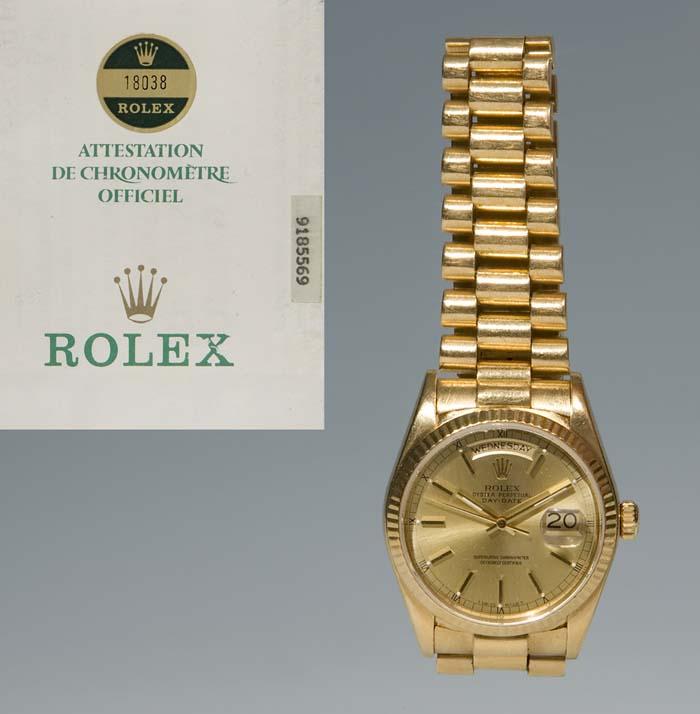 Rolex Gold Herren